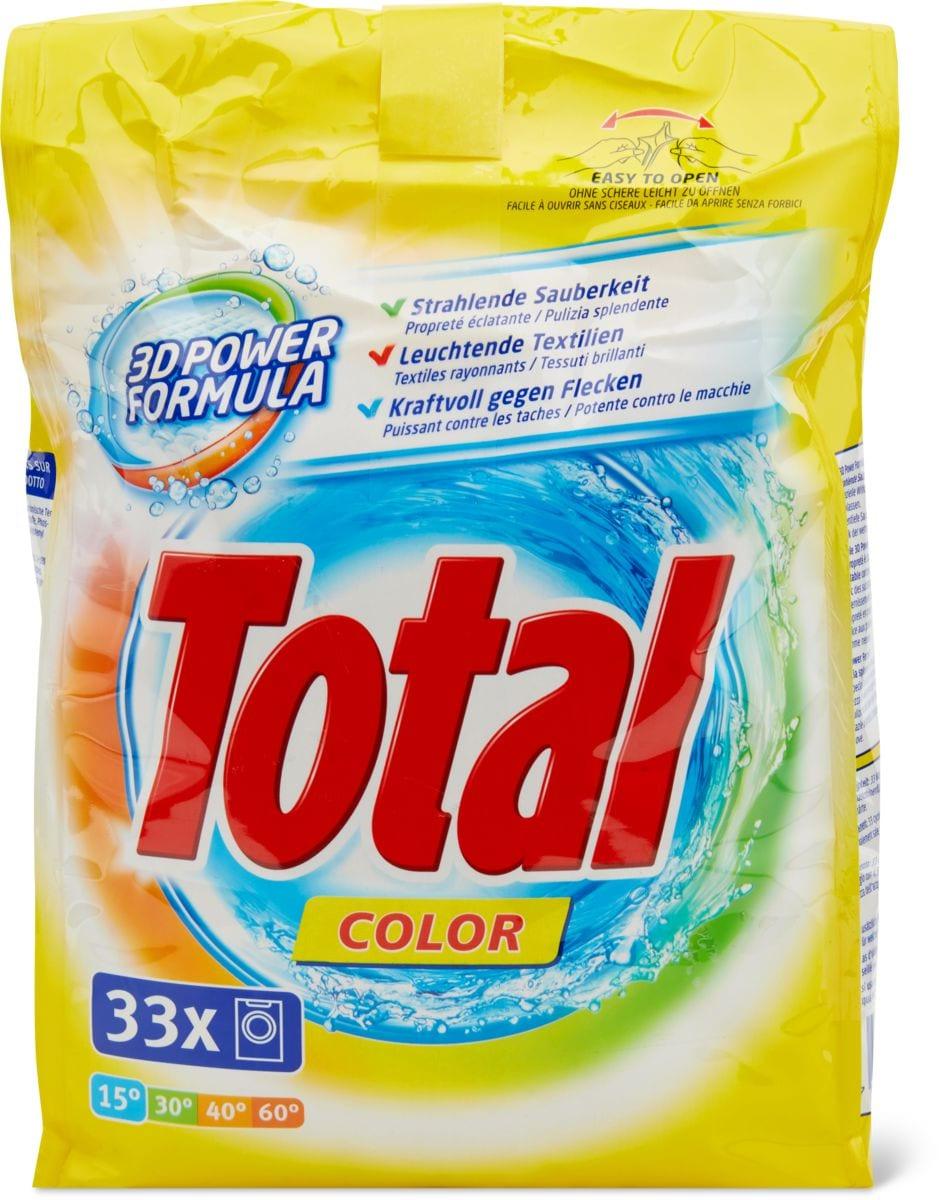 Total Produit de lessive Color