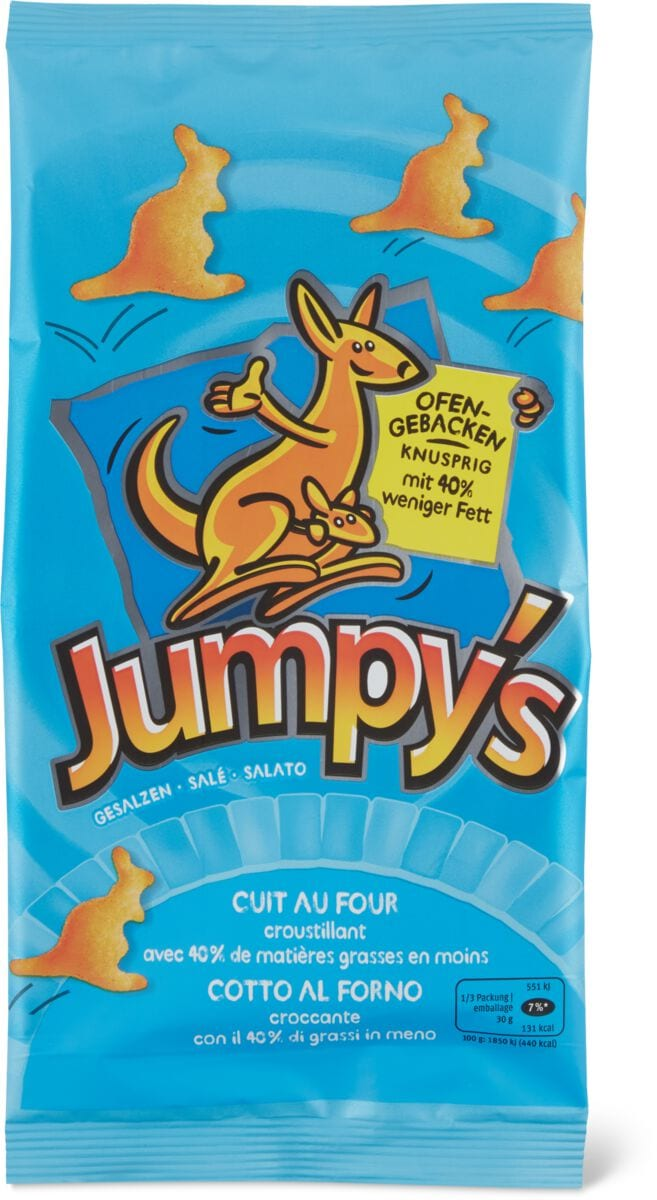 Jumpy's Ofengebacken gesalzen