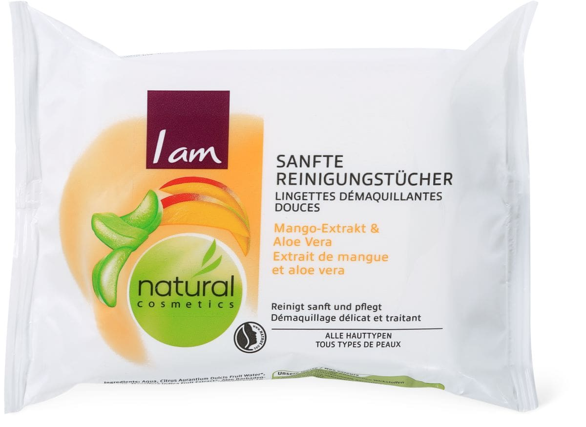 I am Natural Cosmetics Reinigungstücher