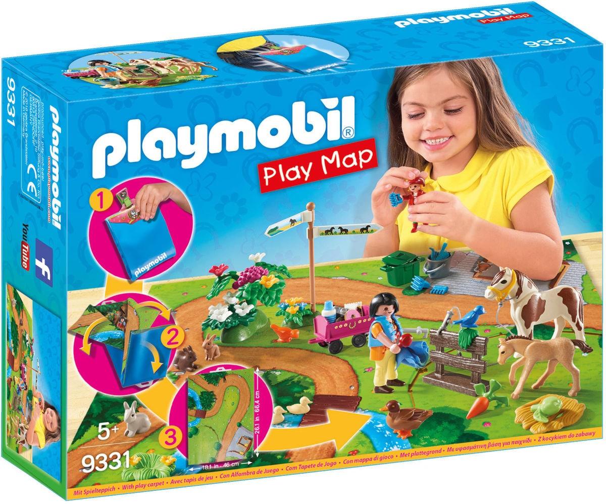 Playmobil Play Map - Passeggiata a cavallo