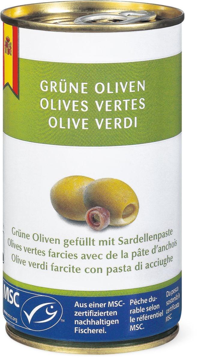 MSC Grüne Oliven mit Sardellenpaste
