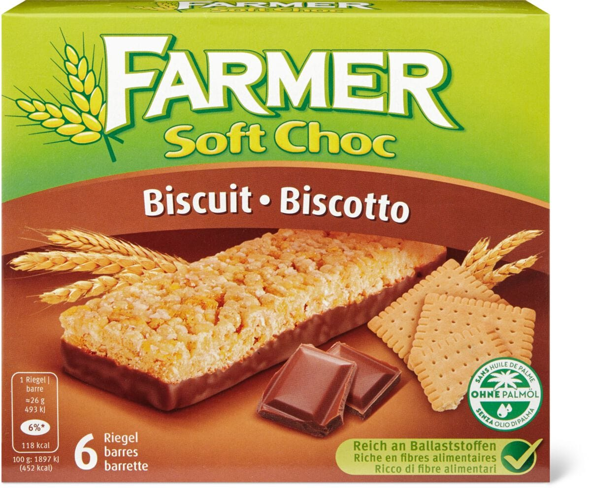 Farmer Soft Choc Biscuit