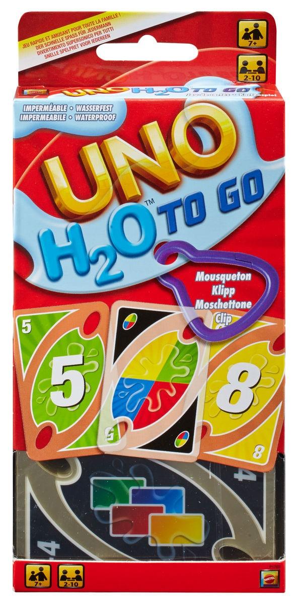 Mattel Games UNO H2O To Go Gesellschaftsspiel