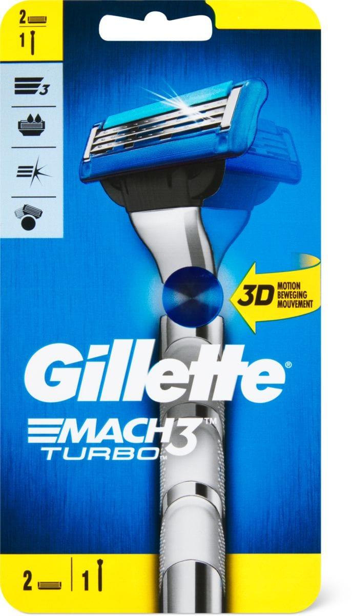 Gillette Mach3 Turbo Rasierer