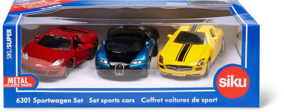 Siku Geschenkset Sportwagen Modellfahrzeug
