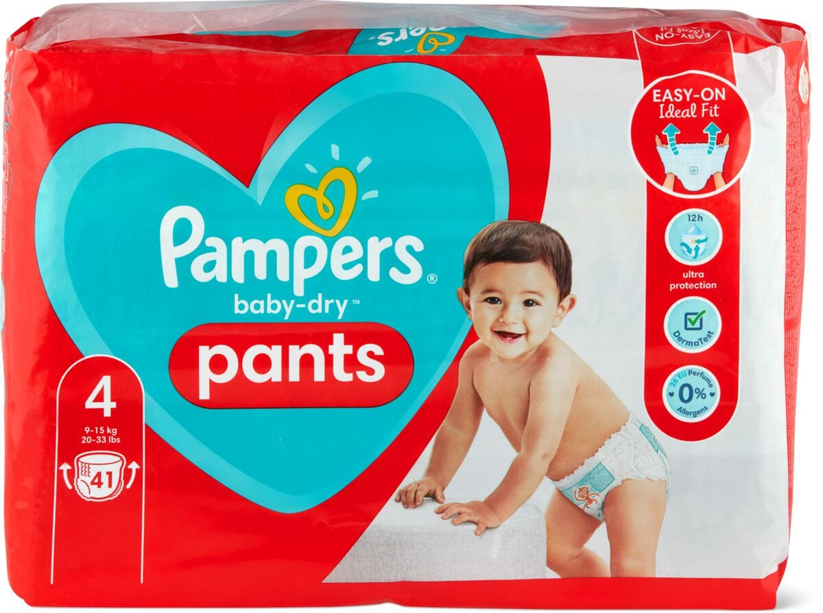 Pampers Baby Dry Pants Gr. 4, Maxi 9-15kg