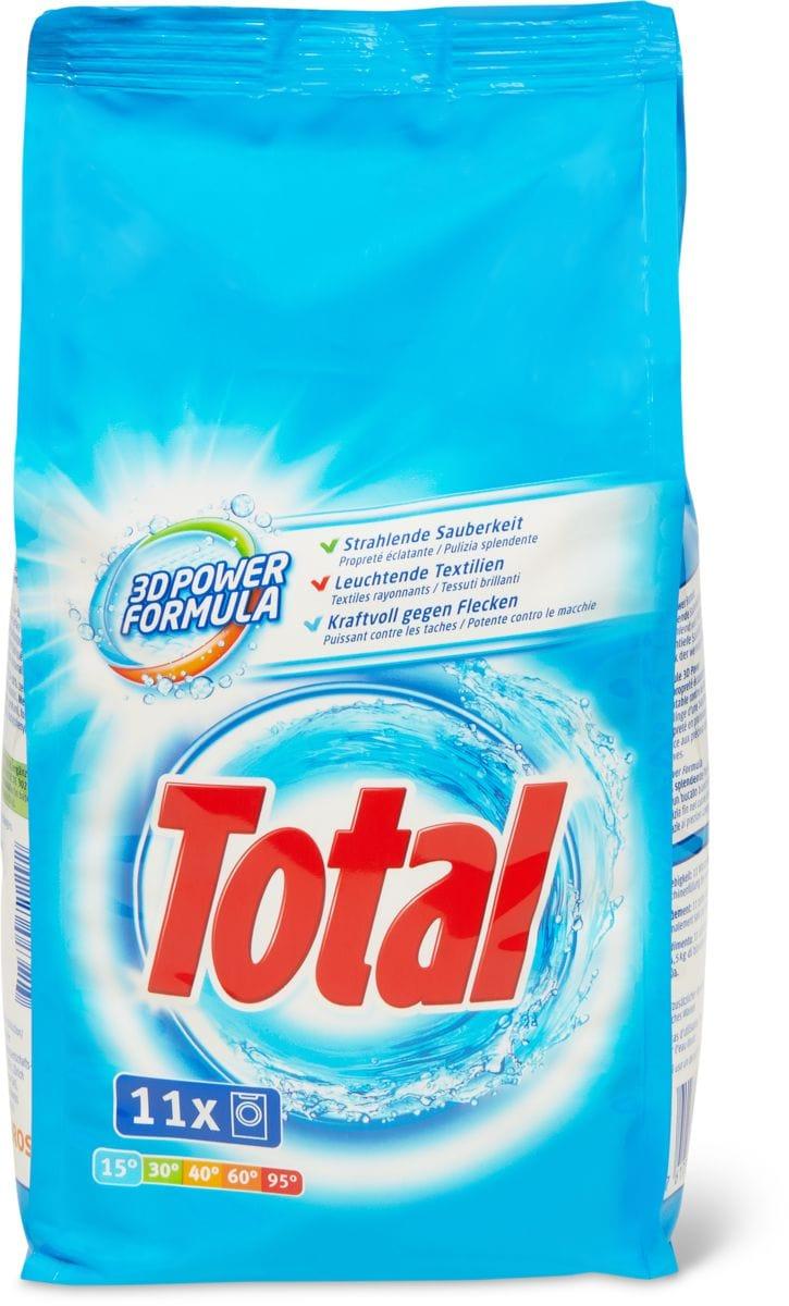 Total Produit de lessive complet en petit conditionnement
