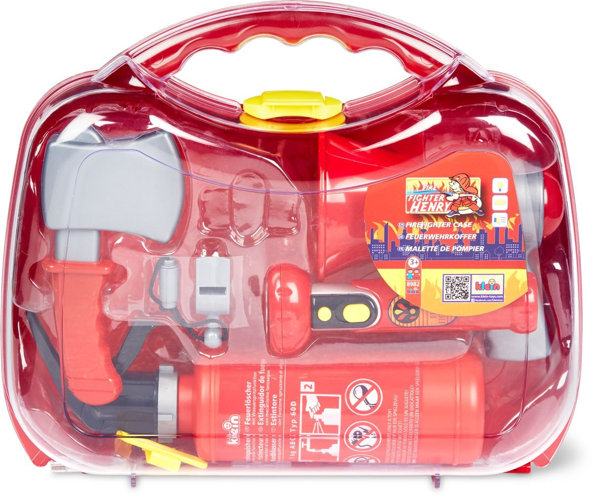 Valigia con set pompiere