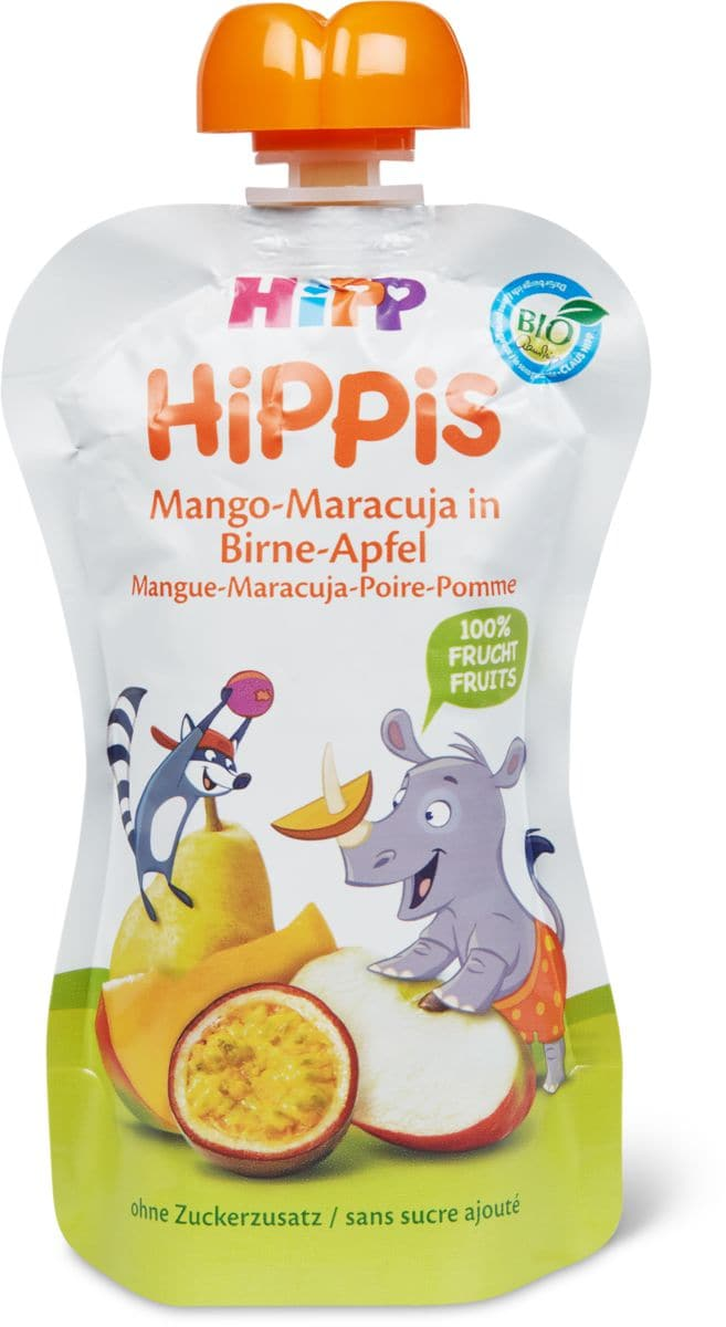 Hipp Quetschbeutel Mango Marac. Birn.