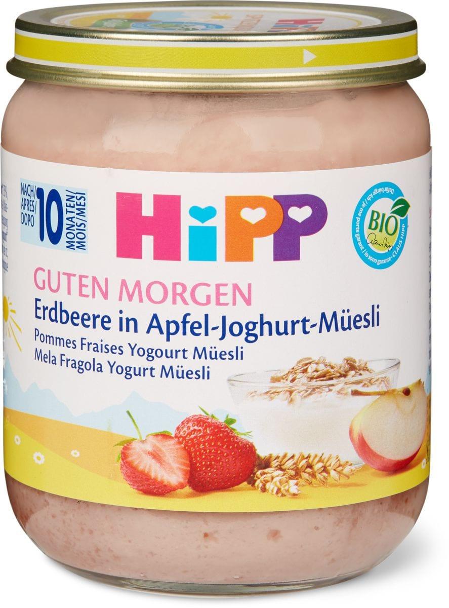 Bio HiPP Fraises-Yogourt