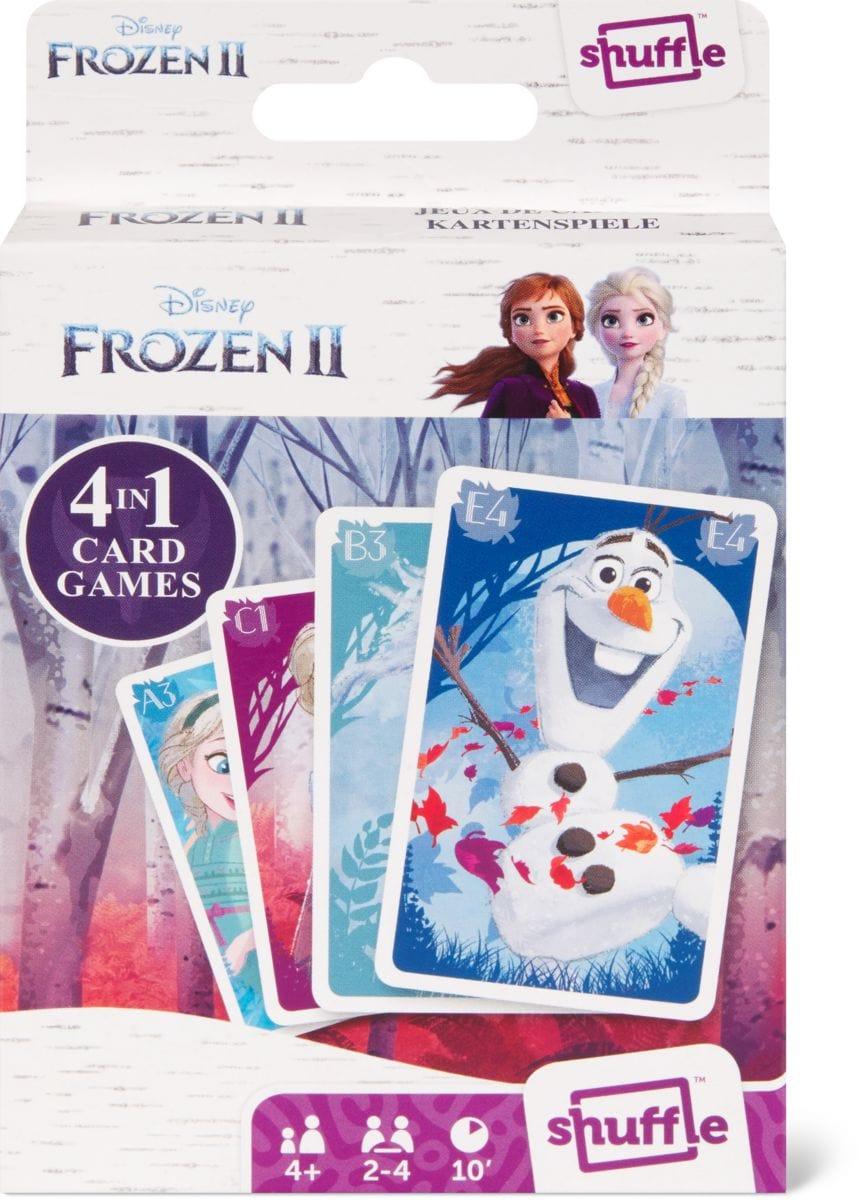Frozen 2 Shuffle Fun 4 in 1