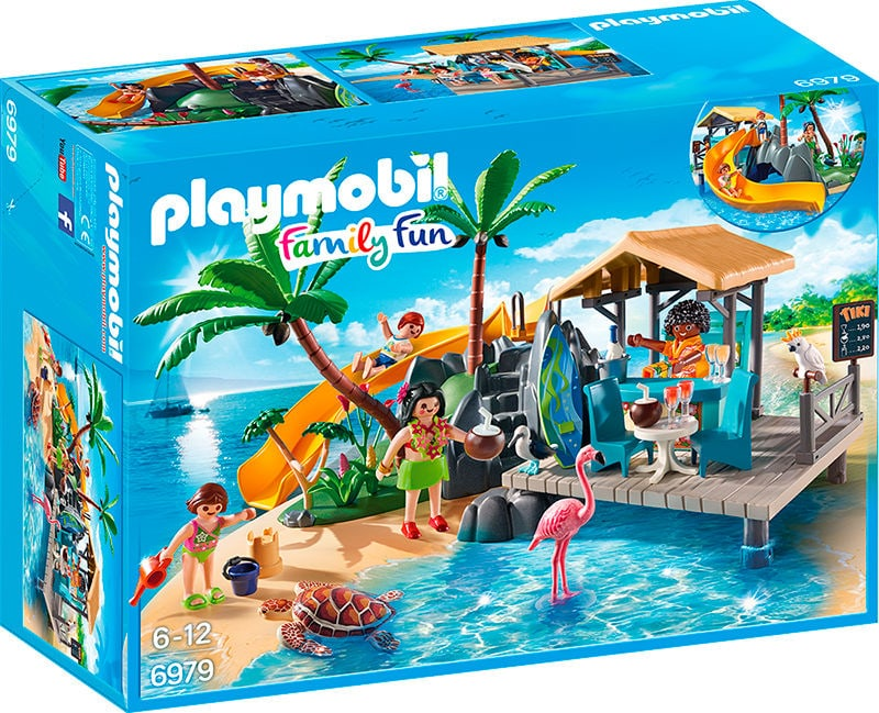 Playmobil Family Fun Ile avec vacanciers 6979