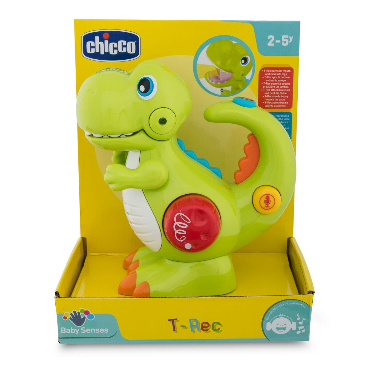 Chicco T-Rex-Dino Giochi educativi