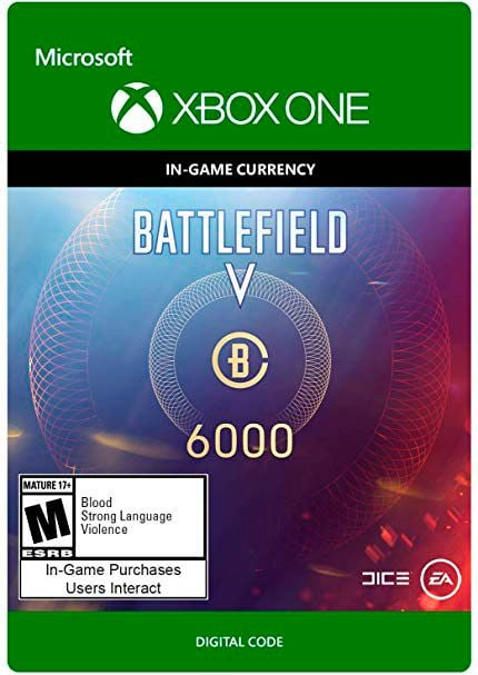 Xbox One - Battlefield V Currency 6000 Download (ESD)