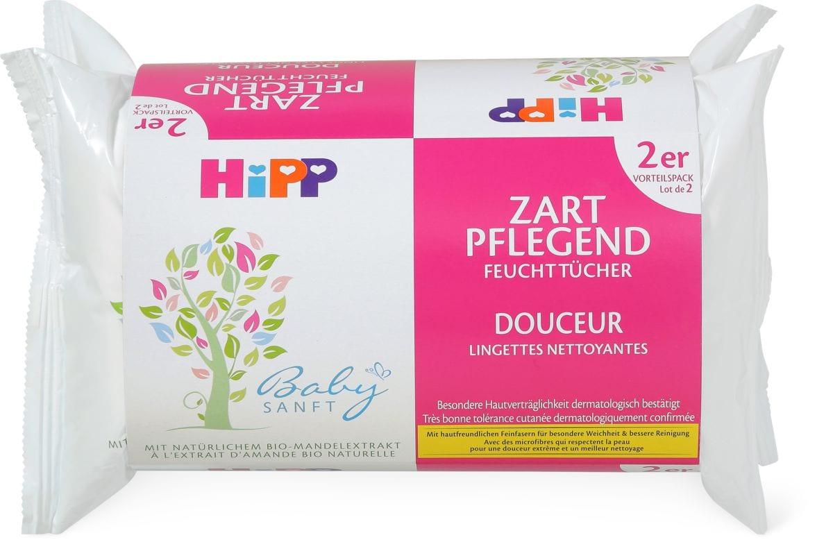 Hipp Baby Sanft lingettes nettoyante - douceur