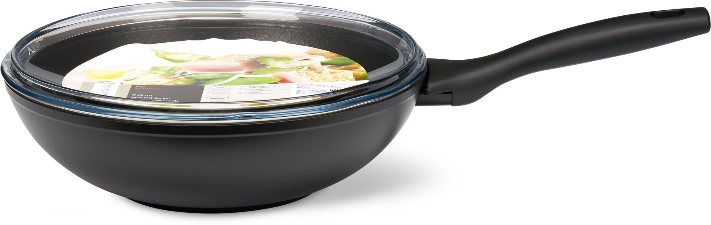 Cucina & Tavola CUCINA & TAVOLA Wok con coperchio