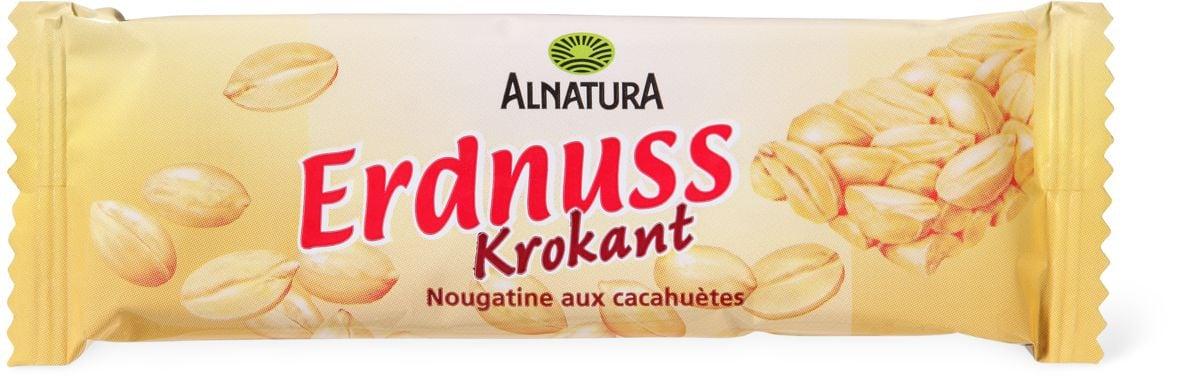 Alnatura barre Nougatine cacahuète