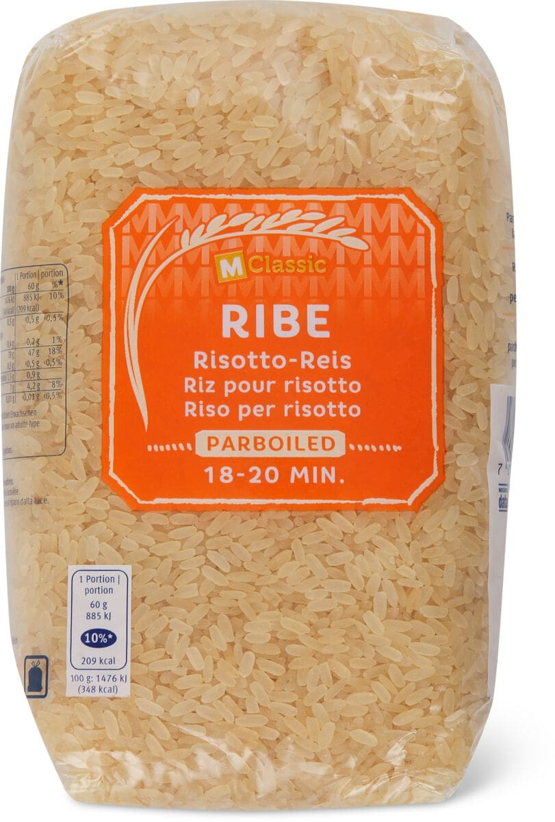M-Classic Ribe Risotto parboiled