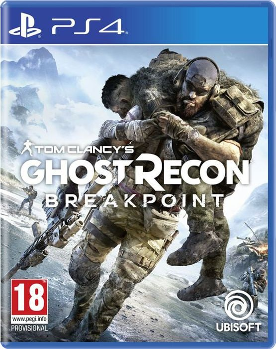 PS4 - Tom Clancy's Ghost Recon: Breakpoint Box