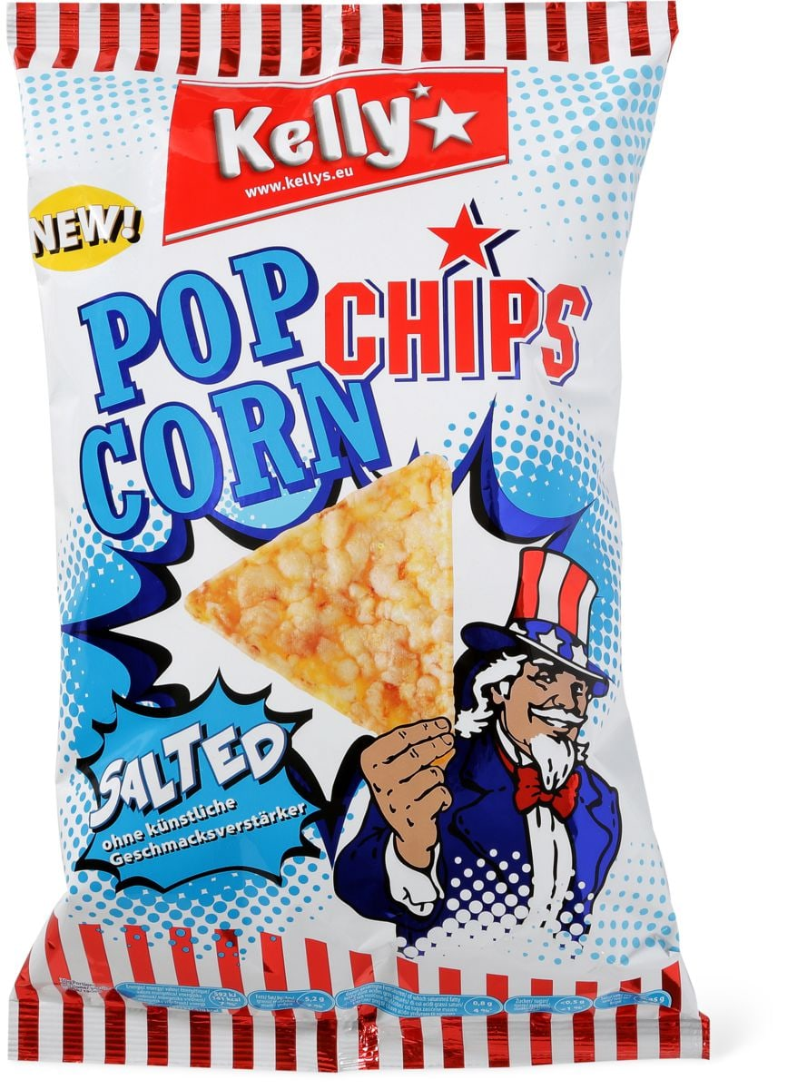 Kelly's Pop corn chips