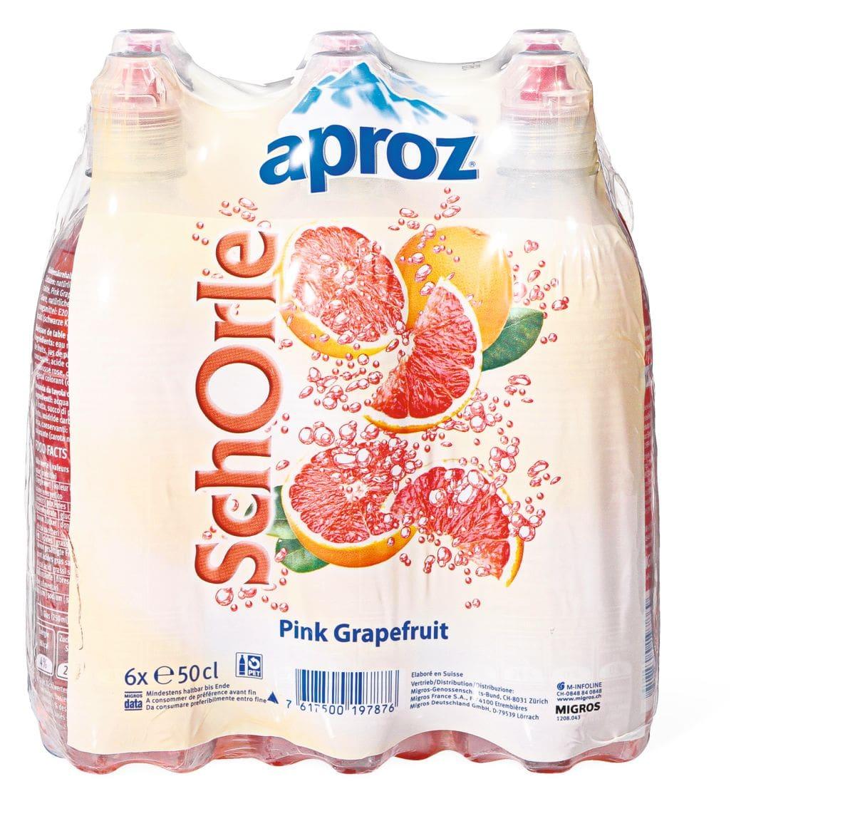 Aproz Schorle Pink grapefruit