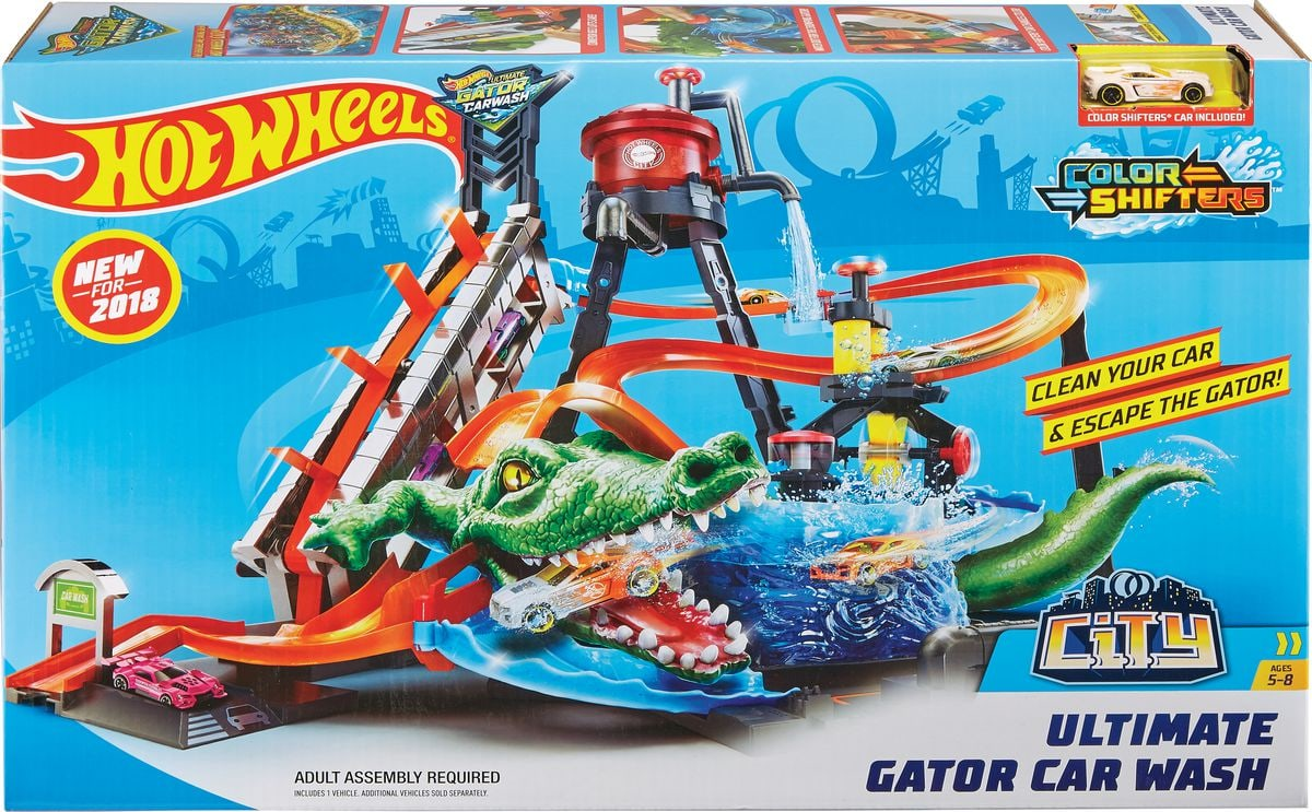 Hot Wheels City Station Lavage Ultime