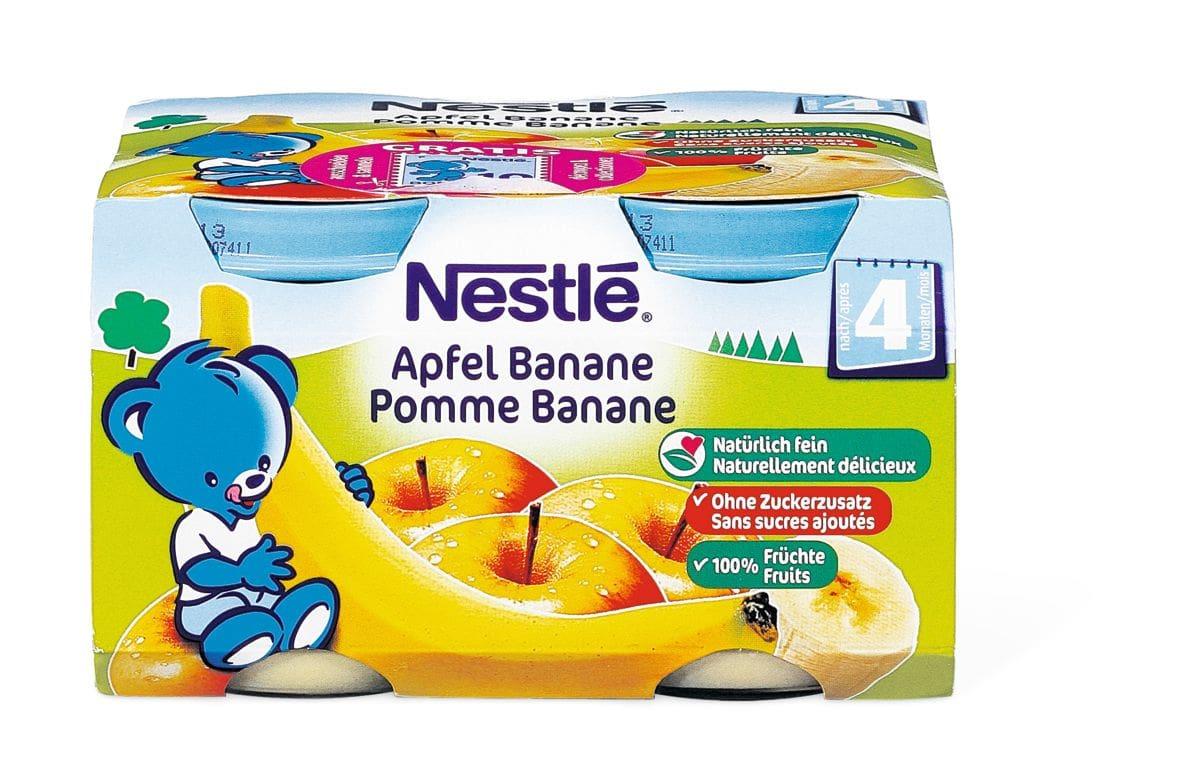 Nestlé Apfel Banane