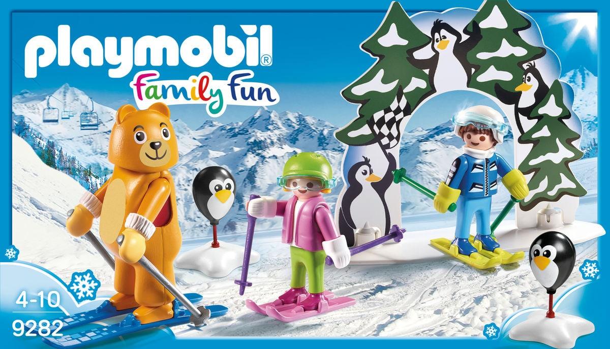 PLAYMOBIL® Family Fun Moniteur de ski avec enfants 9282