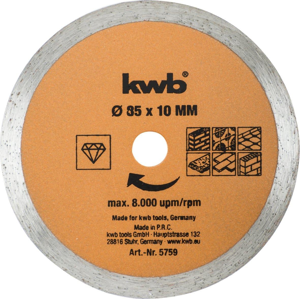 kwb Mini sega circolare