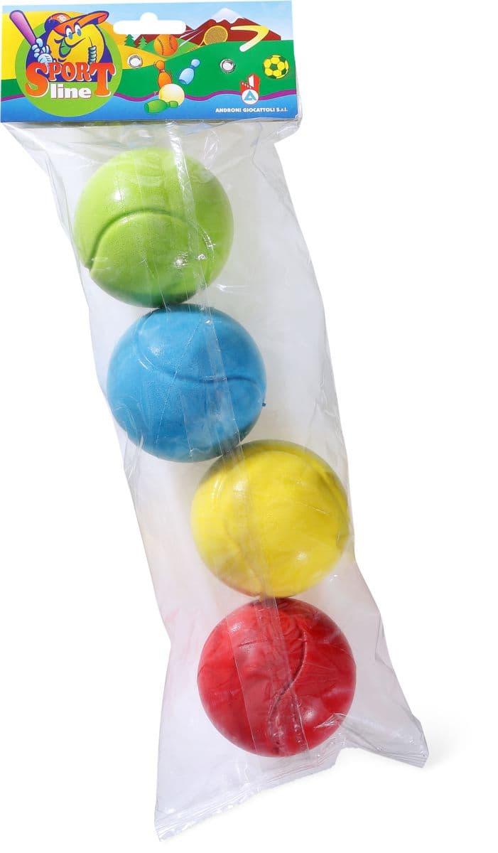 ANDRONI Soft-Tennisbälle, 4 Stk. Ball