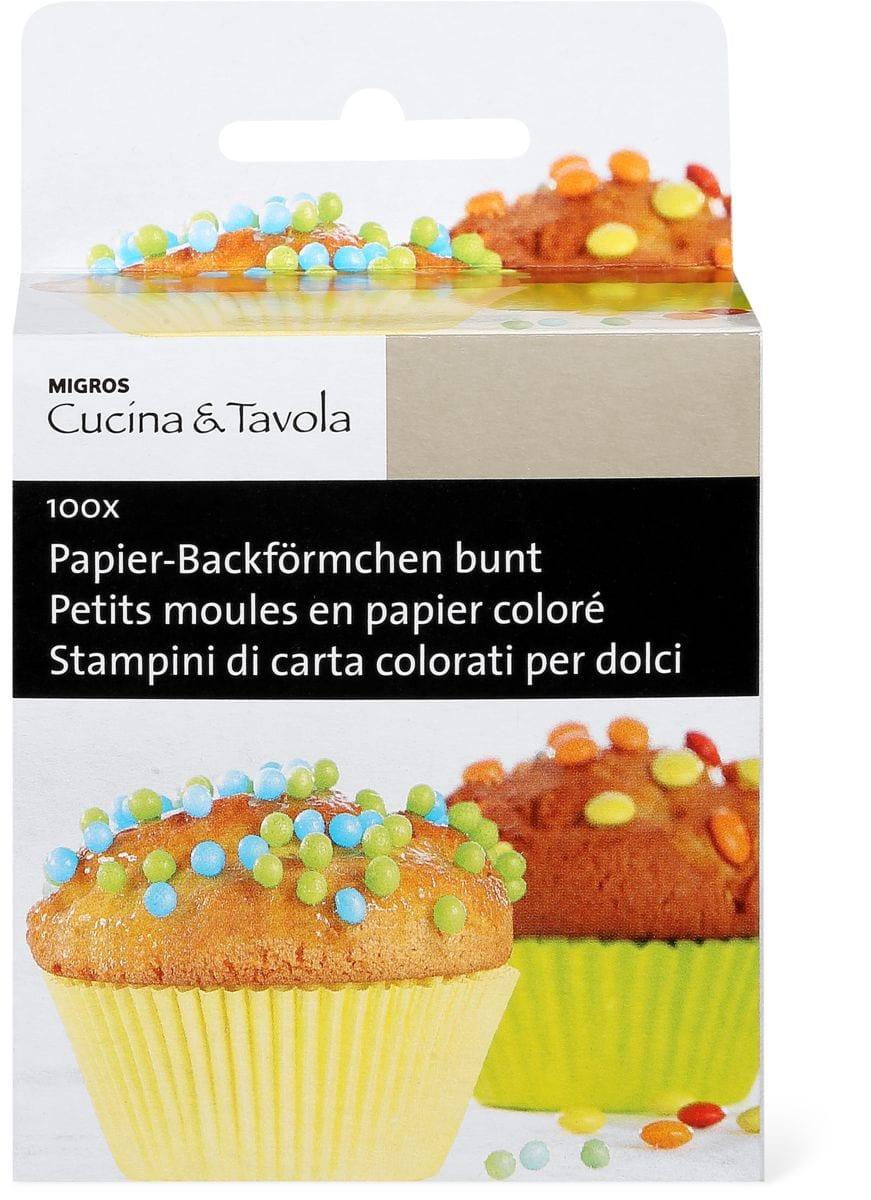 Cucina & Tavola Petits moules en papier coloré