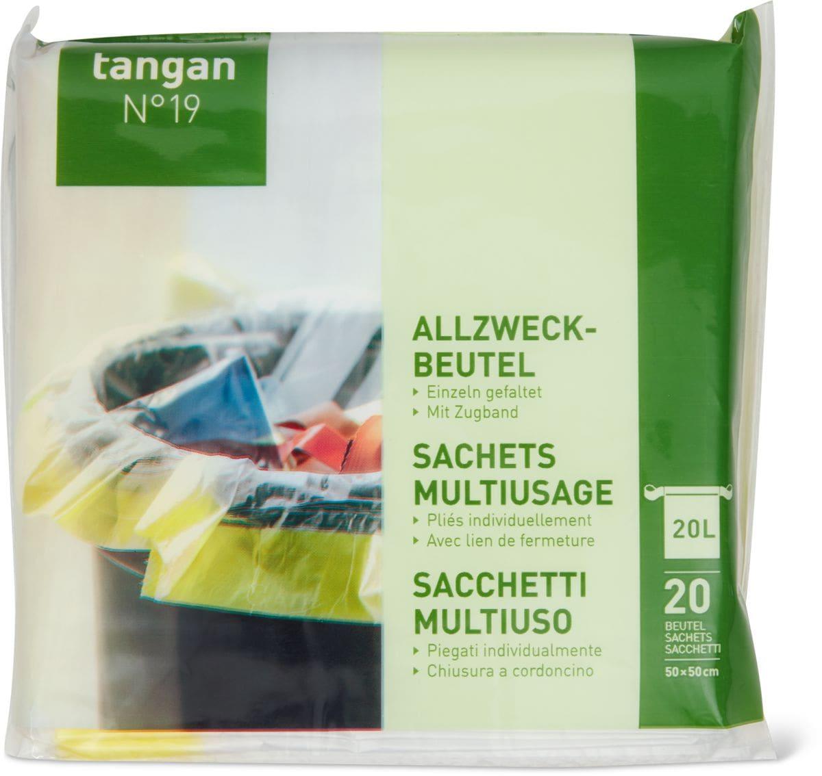 Tangan N°19 Sachets Multiusage 20l