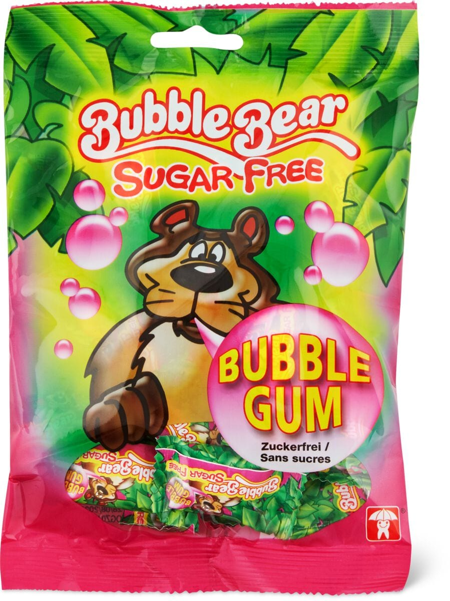 Bubble Bear Sugarfree Bubble Gum