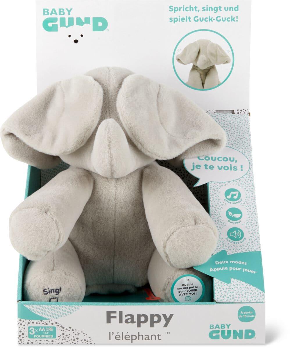 Flappy der Elefant (FR) Funktionsplüsch