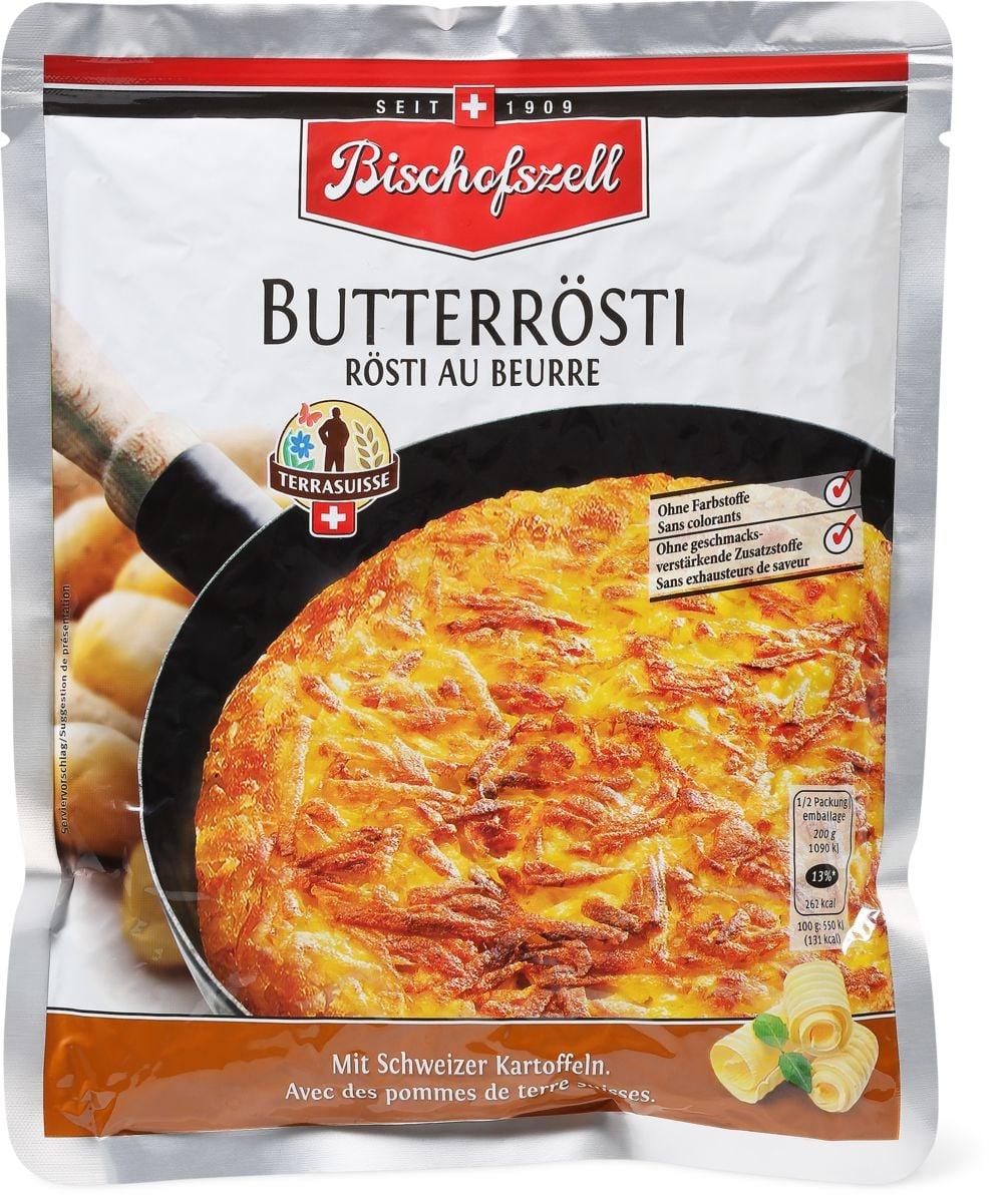 Bischofzell Terra-Suisse rösti beurre