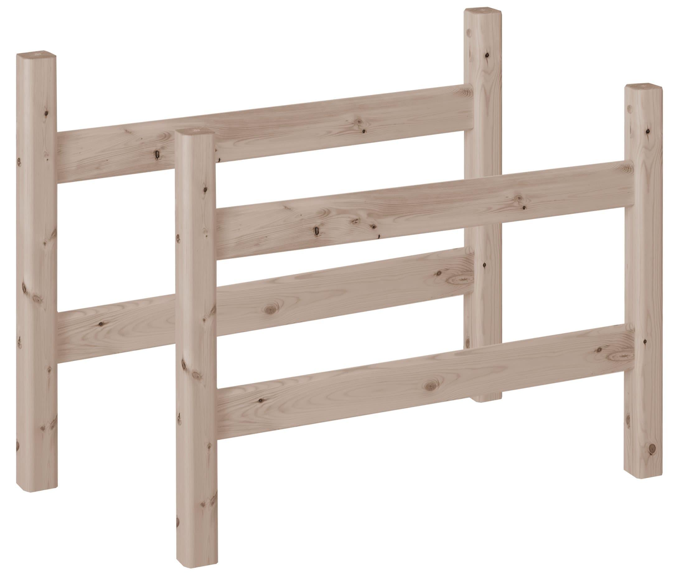 flexa flexa classic pfosten mittelhochbett migipedia. Black Bedroom Furniture Sets. Home Design Ideas