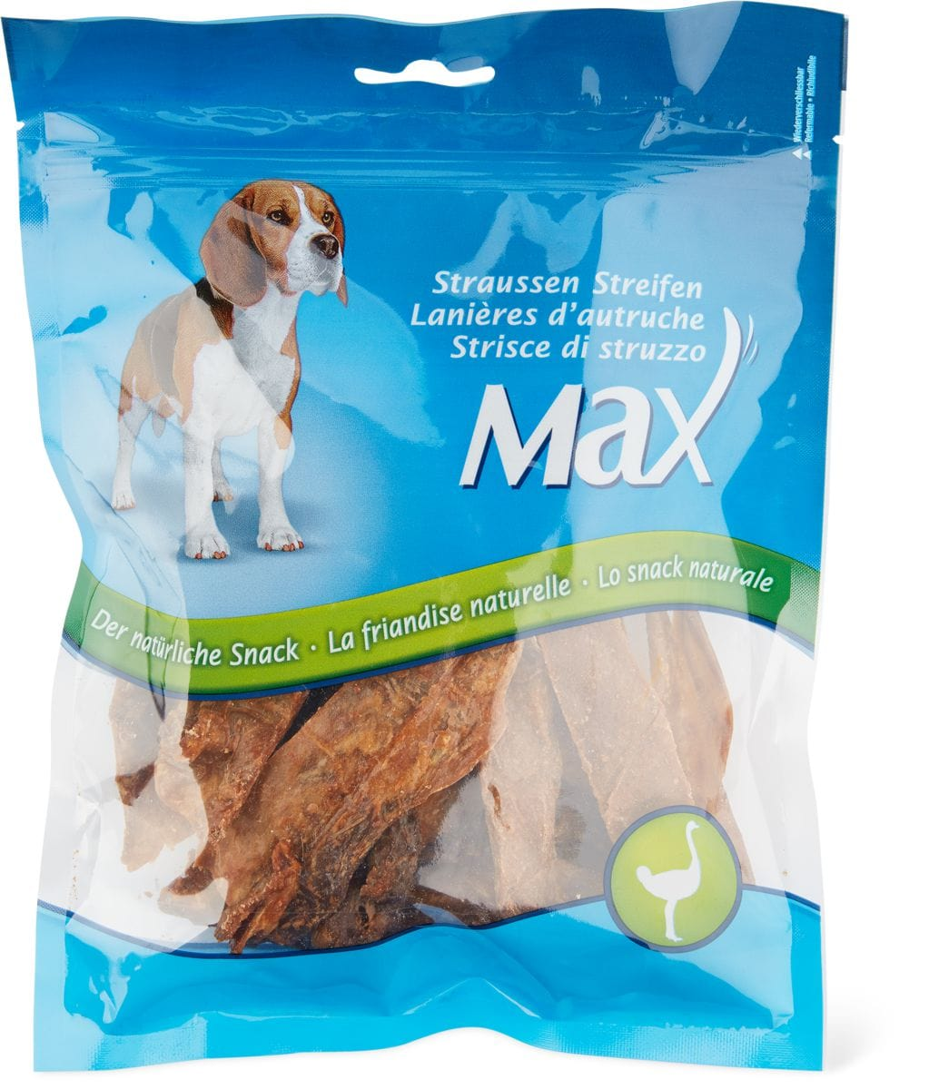 Max Snack Strisce di struzzo