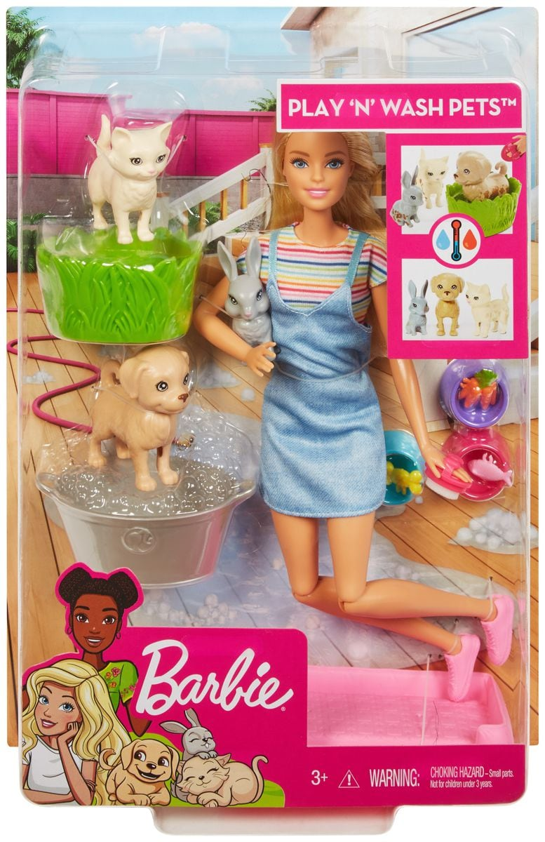 Barbie FXH11 Badespass Tiere