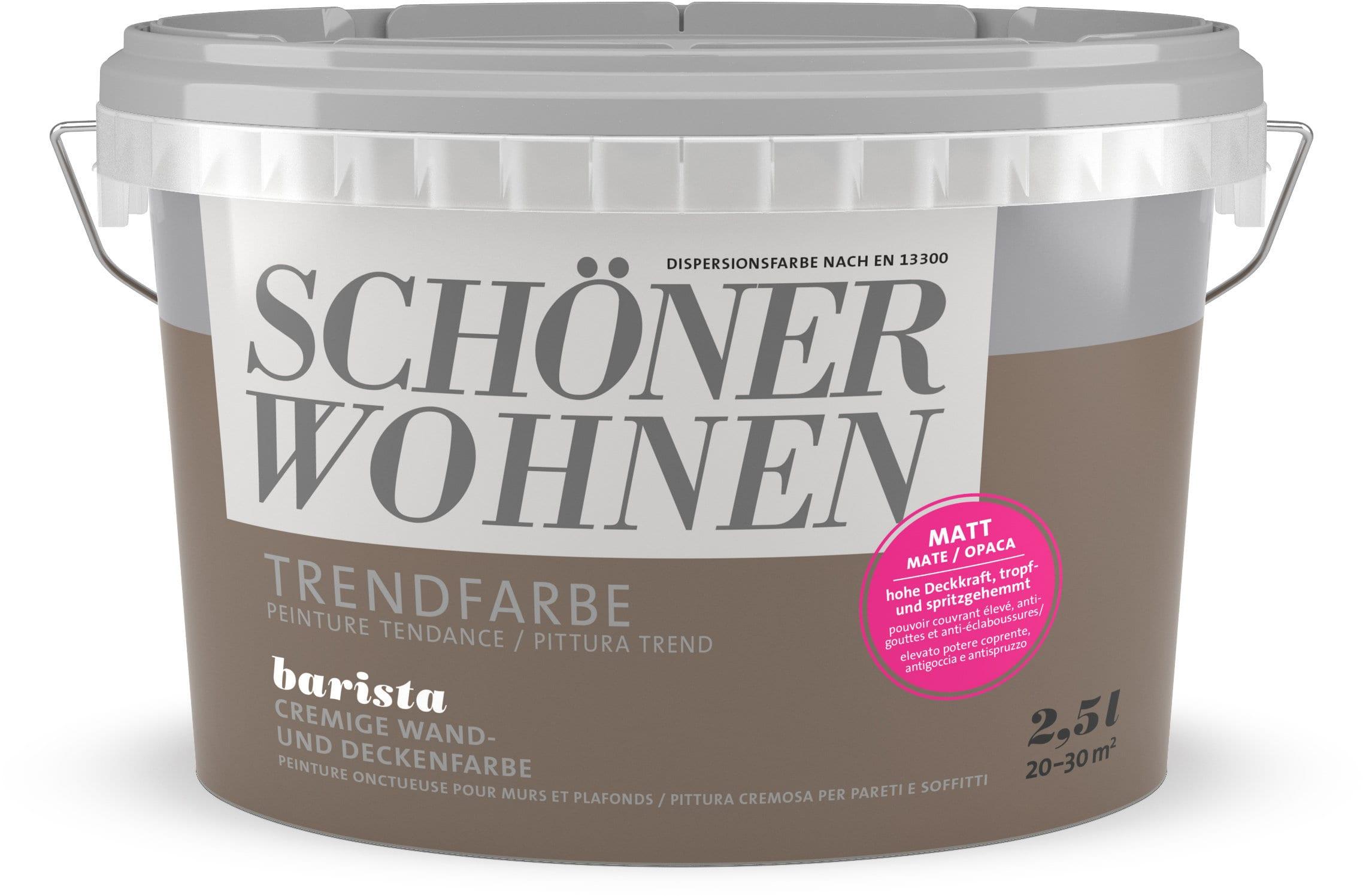 Schöner Wohnen Pittura trend OPACA 2,5L Barista Barista 2.5 l