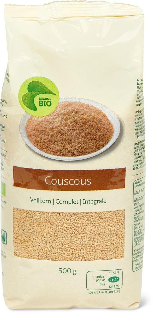 Bio couscous Complet