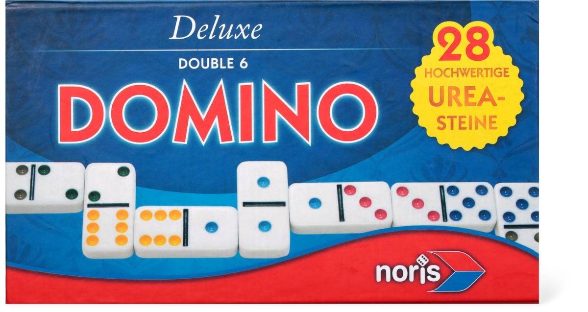 Noris Deluxe Doppel 6 Domino Giochi di società