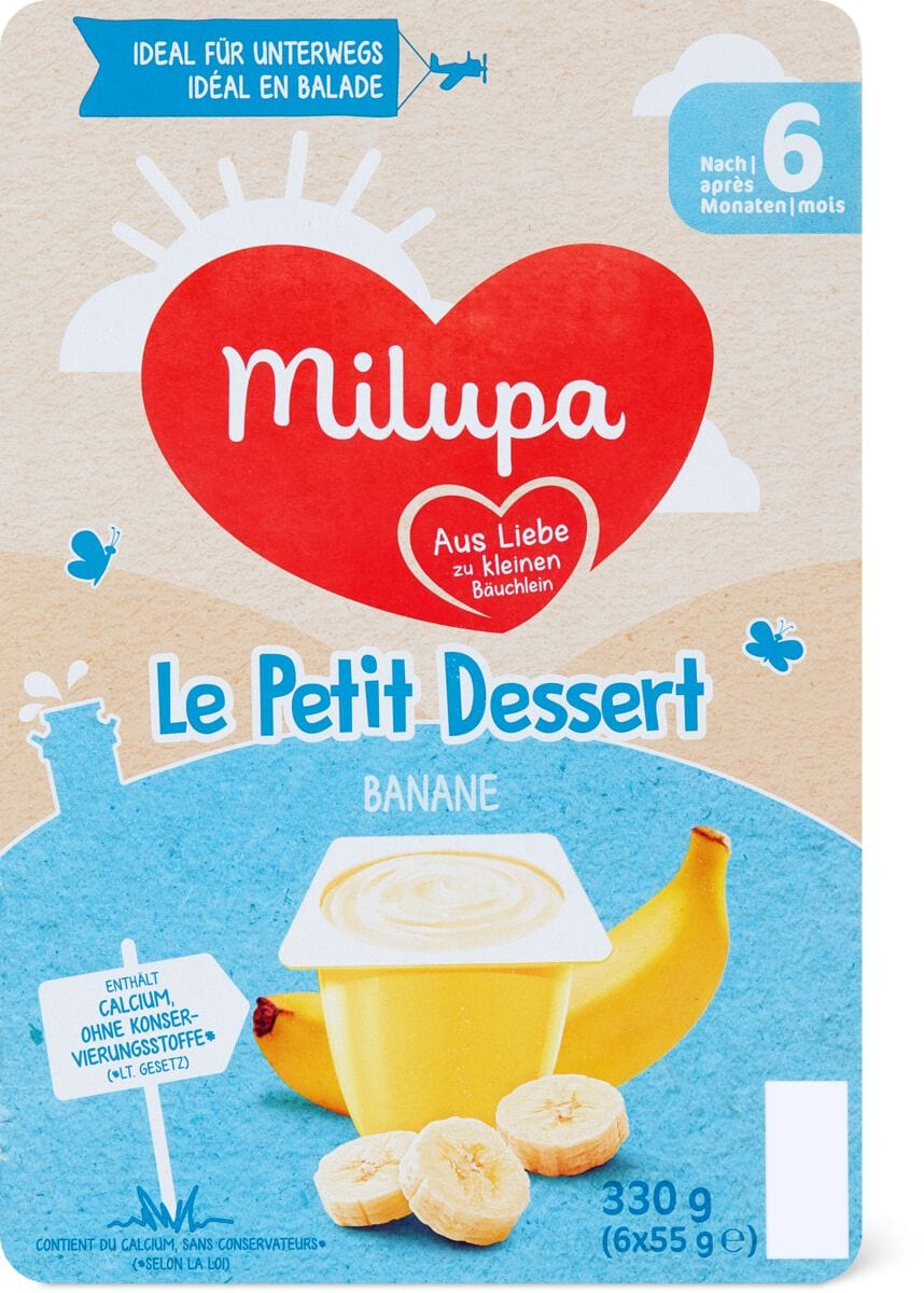 let Petit Dessert Banane