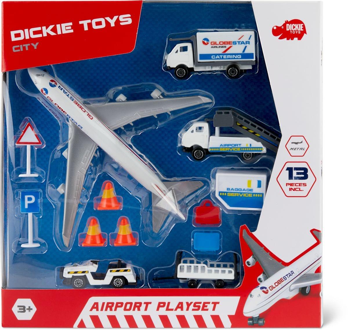 Dickie Toys Airport Playset Macchinine