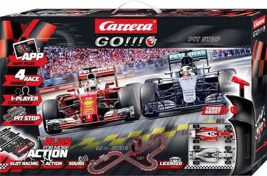 Carrera Go Plus F1 Pit Stop