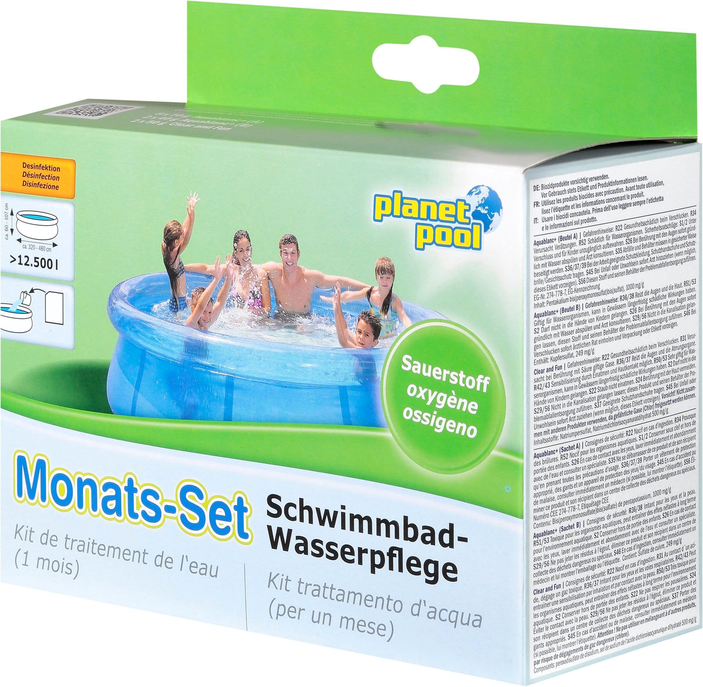 Planet Pool Kit per un mese ossigeno