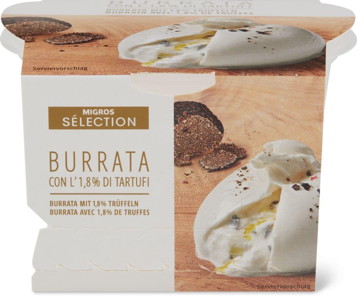 Sélection Burrata Tartufo
