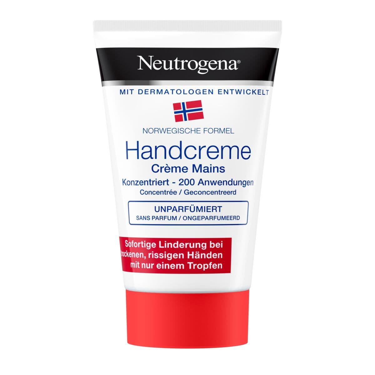 Crème pour les mains Neutrogena sans parfum