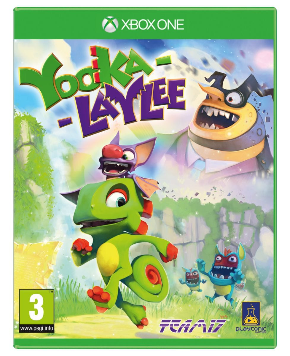 Xbox One - Yooka-Laylee Box