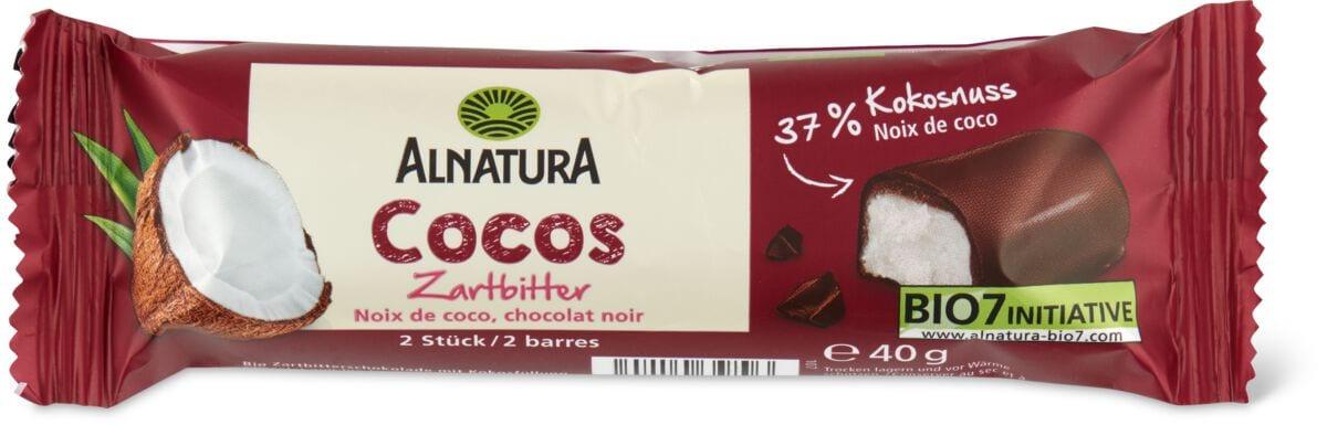Alnatura barrette Cocco cioccolato