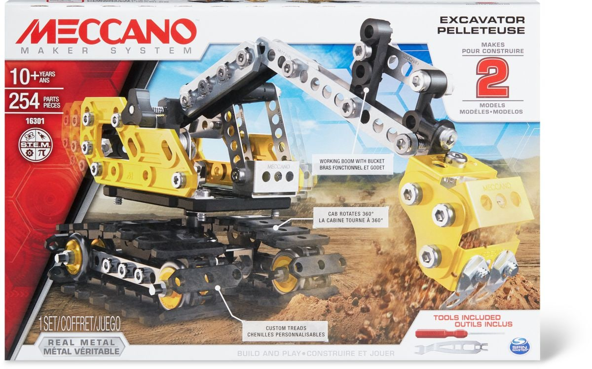 Meccano 10-Multimodèles Set Truck